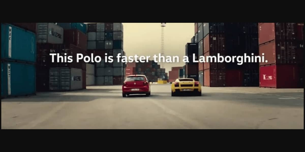 TVC: Volkswagen Film Faster Than a Lamborghini